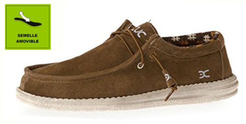 WALLY SUEDE BRUN